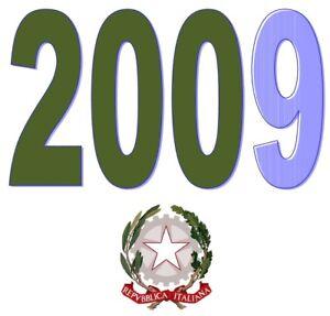 ITALIA-Repubblica-2009-Singolo-Annata-Completa-integri-MNH-Tutte-le-emissioni