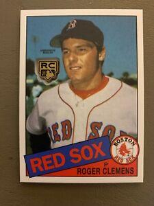 2020-Topps-Series-1-ROGER-CLEMENS-85-039-RC-Retrospective-Medallion-Boston-Red-Sox