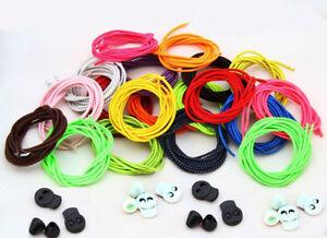 Elastic-Laces-Lock-Shoelaces-Running-Triathlon-Sports-Shoe-Trainer-No-Tie-Laces