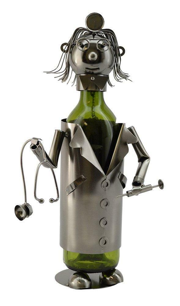 (D) Porte Bouteille Vin, Lady Doctor, bar comptoir Décoration