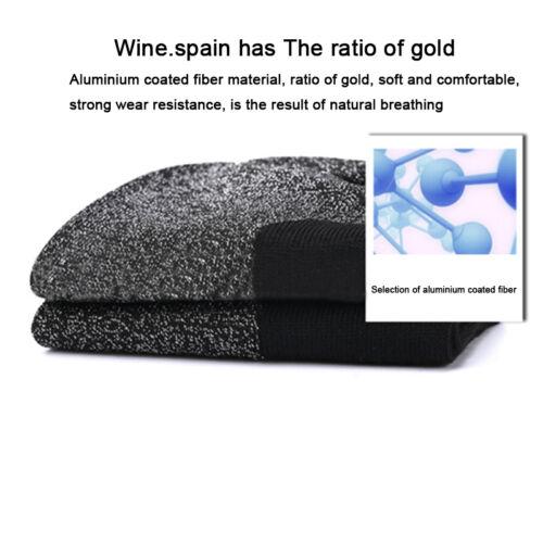2//4Pair Unisex 35 Below Aluminized Fibers Socks Feet Warm Dry Heat Insulation UK