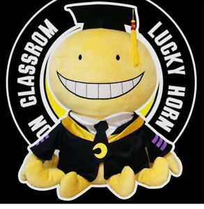 Details about 12 ''Anime Assassination Classroom Ansatsu Kyoushitsu Koro  Sensei Plush Doll Toy