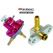 SYTEC SAR FUEL PRESSURE REGULATOR (RED) + FUEL RAIL ADAPTOR - MAZDA 323F / GTR