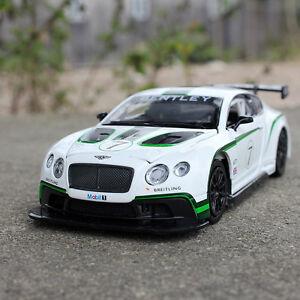 6-in-approx-15-24-cm-Aleacion-Diecast-Bentley-Continental-7-GT3-Modelo-de-Coche-de-Juguete-Tire