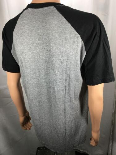 Hanes X-TEMP Tagless CREW NECK Soft Short Sleeve Lounge Top Heather//Black NEW