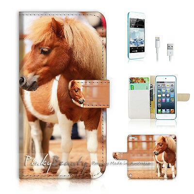 ( For iPod 5 / itouch 5 ) Flip Case Cover! P0625 Pony
