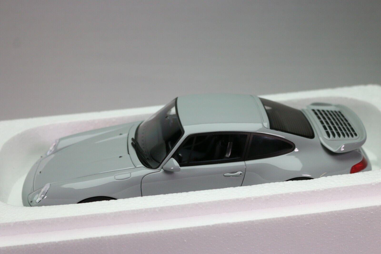 ZD015 GT SPIRIT 145 Voiture 1 18 RUF 993 Turbo gris métal