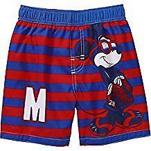 Boys Infant Toddler Baby Disney Mickey Mouse Swim Trunks  NWT