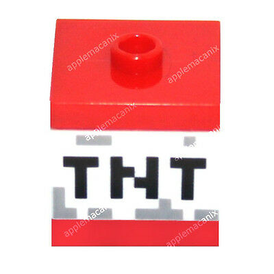 LEGO MINECRAFT TNT BOMBS FROM SET 21113