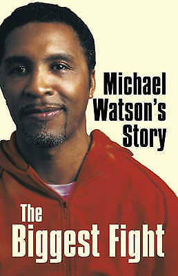 """VERY GOOD"" Michael Watson's Story: The Biggest Fight, Michael Watson, Book"