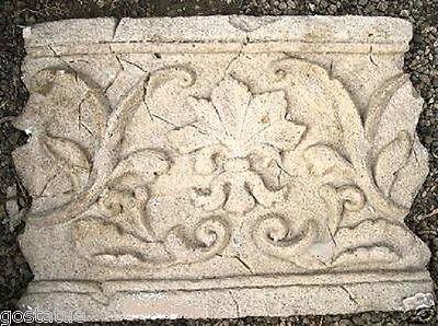 NEW plaster,concrete, Roman accent  plastic  mold