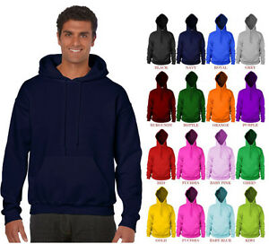 Image is loading Gildan-18500-Hooded-Sweatshirt-Heavy-Blend-Plain-Hoodie- ca1e912e8c091