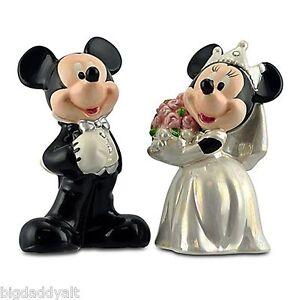 Image Is Loading New Disney World Mickey Minnie Bride Groom Wedding