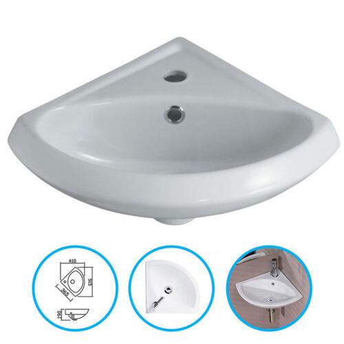 Bathroom Cloakroom Ceramic 1 Tap, Small Corner Sink Bathroom