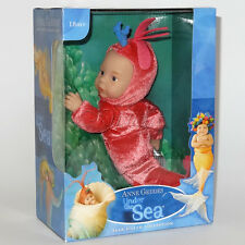 """Anne GEDDES bambole SELEZIONE Rosa Baby Gamberetti 9"""" sotto il mare NUOVO IN SCATOLA REGALO"""