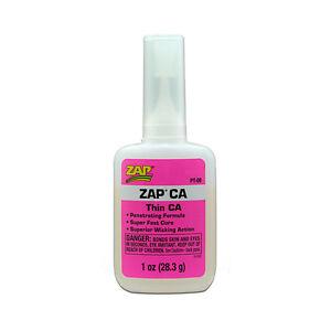 Pacer-ZAP-ca-Super-Thin-PT08-Cyanoacrylate-Adhesive-1oz-Free-P-amp-P