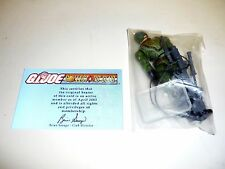 GI JOE JUNGLE VIPER Action Figure Exclusive SEALED COMPLETE w/FILE CARD v1 2005