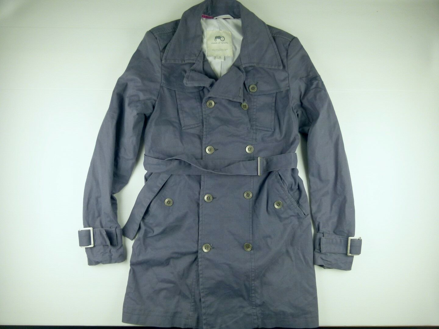 C254 MOODS OF NORWAY double breast lined coat size S, excellent condition