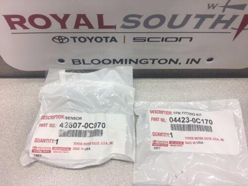Toyota Tundra 07-17 Sequoia 08-17 20* Tire Pressure Sensor Kit TPMS Genuine OEM