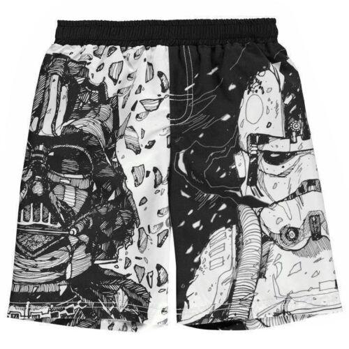 Kids Boys Branded Character Stylish Print Board Shorts Swimwear Size Age 2-13