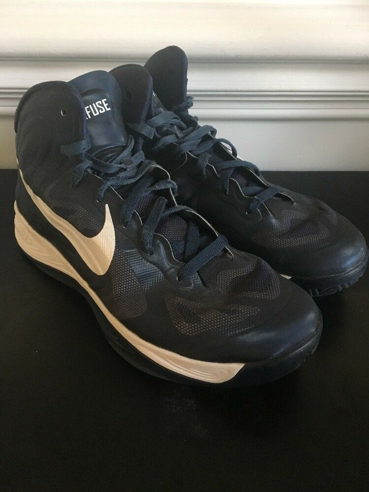 Mens Nike Hyperfuse Basketball Shoes Blue Comfortable  Cheap and beautiful fashion