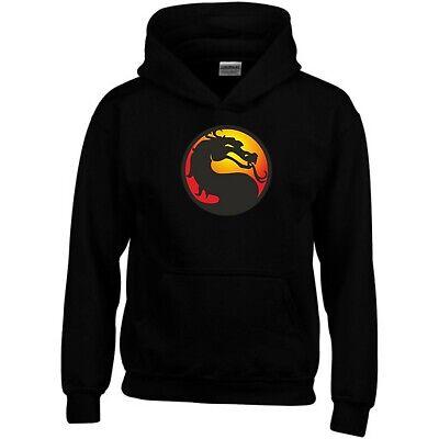 Mortal Kombat Sweatshirt Classic Logo PC Game Xbox PS4 Fans Gift Men Jumper Top