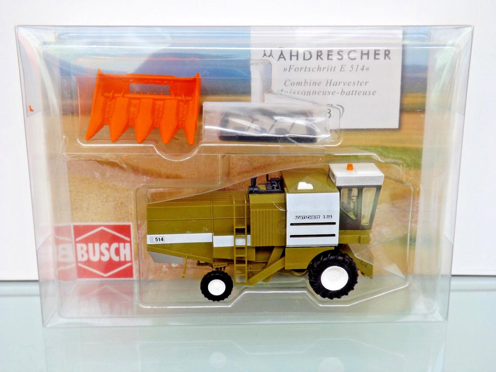 al precio mas bajo Busch 40175-h0 1 1 1 87 - cosechadoras fortschr. e 514 + Cornhuskers-nuevo en caja original  tienda en linea