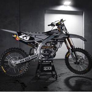 Polisport-Plastic-Kit-Yamaha-YZF-450-18-2018-2019-250-19-Nardo-Grey-90822-MX