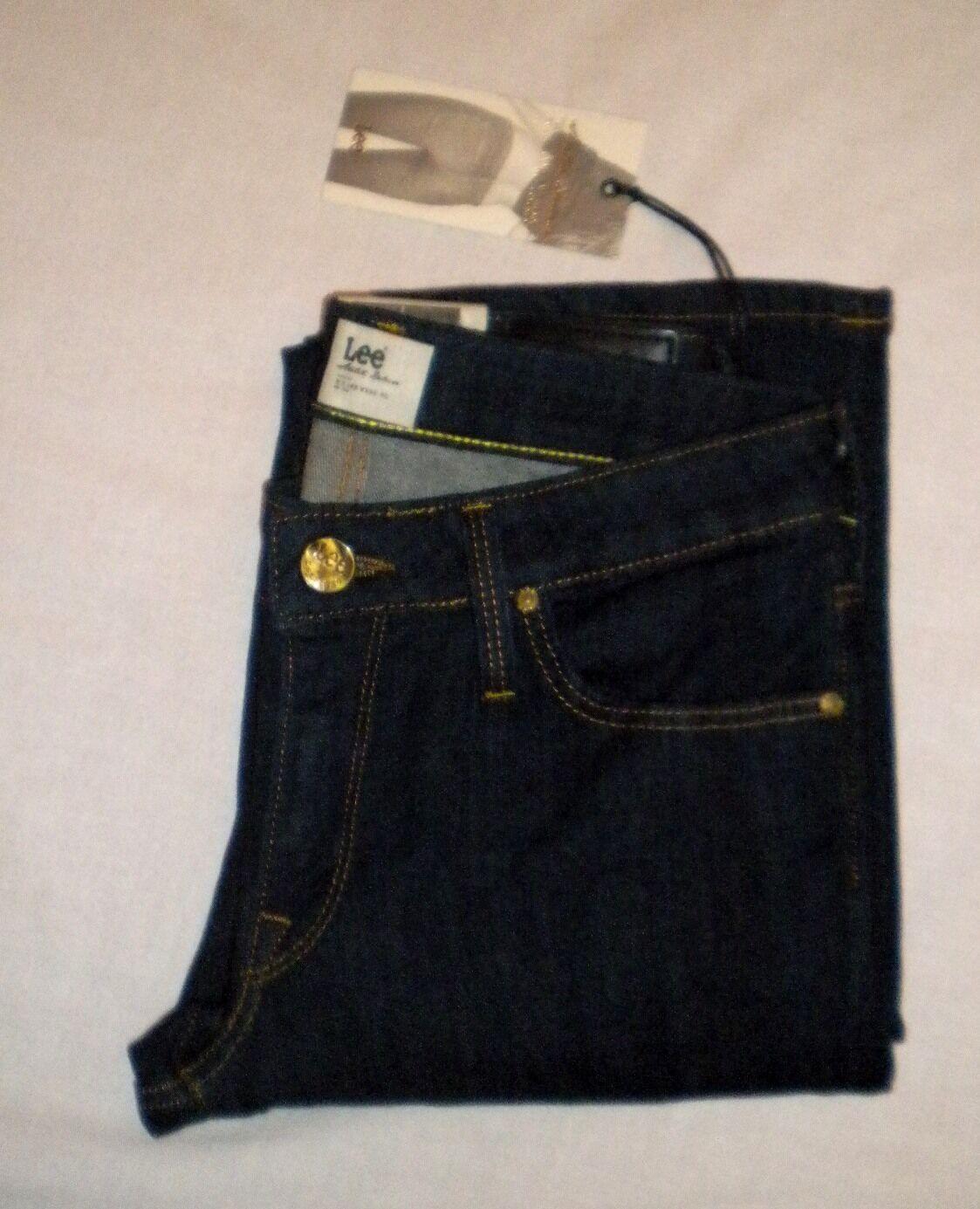 Classy Lee Women's Jeans Marlin Slim Straight Style Size W25 L33 BNWT