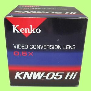 Kenko-KNW-05-Hi-0-5x-Video-Conversion-Lens-Fit-Lens-Front-52mm-made-in-Japan