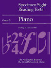 Specimen Sight-reading Tests: Piano: Grade 5 by Associated Board of the Royal Schools of Music (Paperback, 1989)