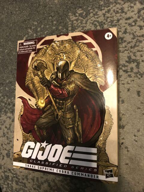 "GI Joe Classified Series 6"" Snake Supreme Cobra Commander Exclusive Hasbro NEW"