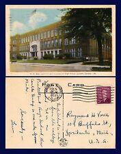 CANADA ONTARIO LONDON H.B. BEAL HIGH SCHOOL FEBRUARY 15, 1953 TO YPSILANTI