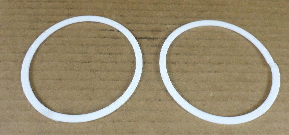 Lot of 2 LeBlond Makino Z269A0708561 SUN-28P-85 Back-Up Rings