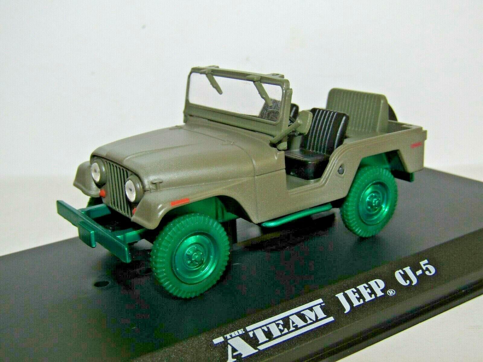 salida para la venta verdelight verdelight verdelight Jeep CJ-5 el equipo de un 1 43 86526 ruedas versión Chase verde  70% de descuento