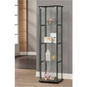 Curio Cabinet Display Shelves Gl 4