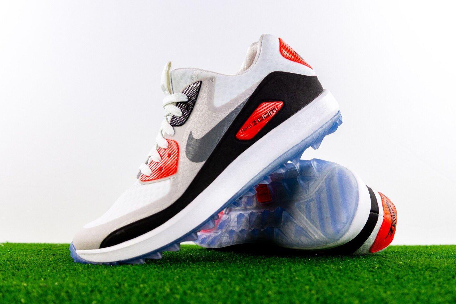 Nike air zoom 90 es golf schuh schuh schuh schuh 844648 100 größe 8,5 wmns oder 7 männer stollen b34774