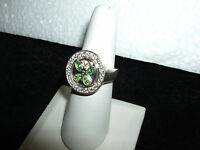 Kameleon Sterling Silver Rings - Kr 012 Sparkle & Shine Ring Cz