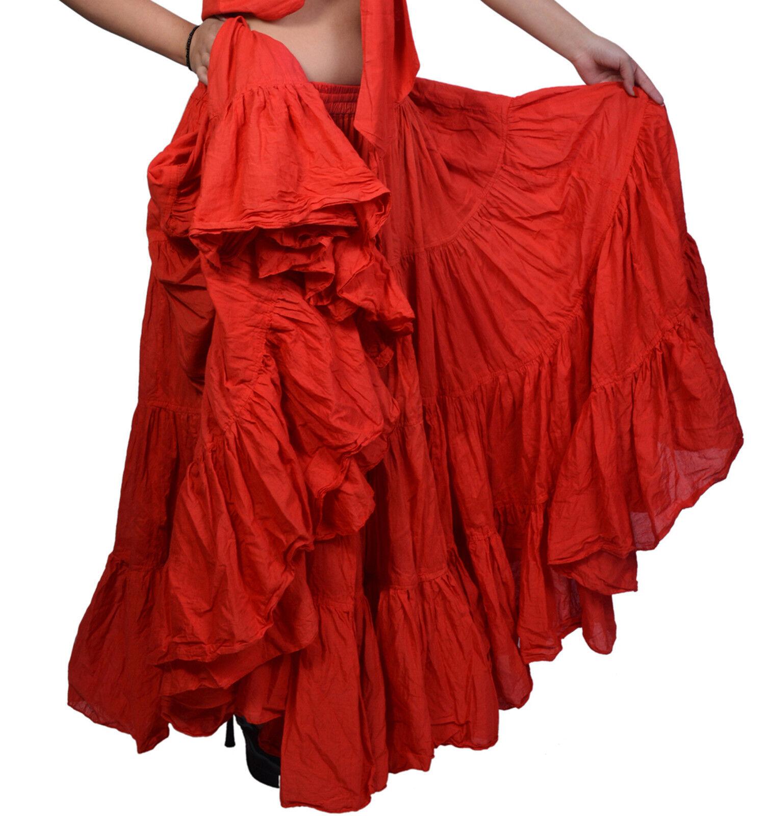 Wevez ATS Tribal Orientale Style Belly Dance 25 Yard Skirts Flamenco