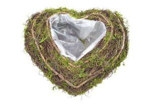 Pflanzherz-Moosherz-Rebenherz-21cm-Grabherz-Clematis-Herz-zum-Bepflanzen