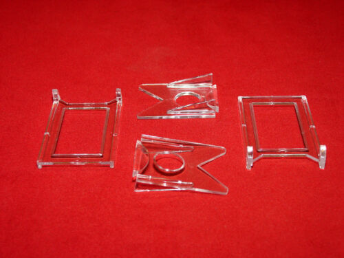 """~50 Adjustable 3 Part 2/"""" Display Stand Fishing lures"""