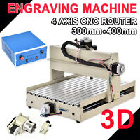 Cnc Router Machine 4axis 3040 Engraver Milling Machine Engraving Carving Machine