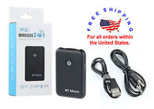 YPF03 Bluetooth Audio Transmitter Receiver 2in1 Music Adapter Low Latency AC1235