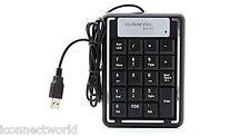 Storite 19 Keys Mini USB Number Numeric Keyboard Keypad Num Pad