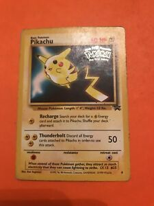 MINT-Pikachu-No-4-Black-Star-Promo-Pokemon-Card-Rare-Fast-P-amp-P