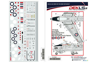 1-72-Decal-Avon-Sabre-Roundels-Fin-Flashes-and-and-Stencil-Data