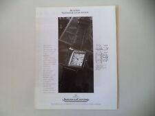 advertising Pubblicità 1991 JAEGER LE COULTRE REVERSO