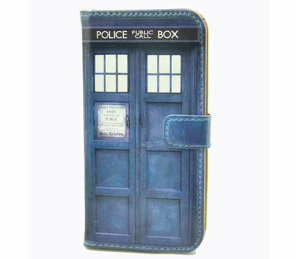 Doctor Who Tardis Leather Wallet Flip Case For Samsung Galaxy S3 S III i9300