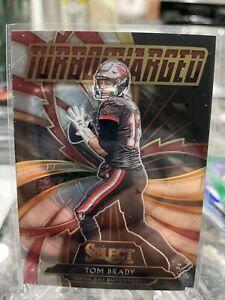 Tom Brady - 2020 Panini Select Insert TURBOCHARGED Card #T12 TAMPA BAY GOAT MVP