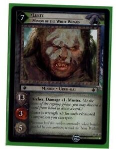 LORD-OF-THE-RINGS-LoTR-11RF16-LURTZ-FOIL-TRADING-CARD-CCG-TCG